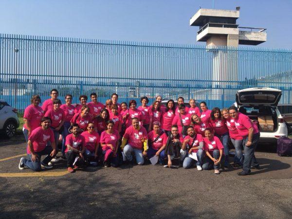 BBI 38 en el Centro Femenil de Readaptación Social Tepepan. CDMX. y en el Reclusorio Femenil Nezahualcóyotl. Edomex.